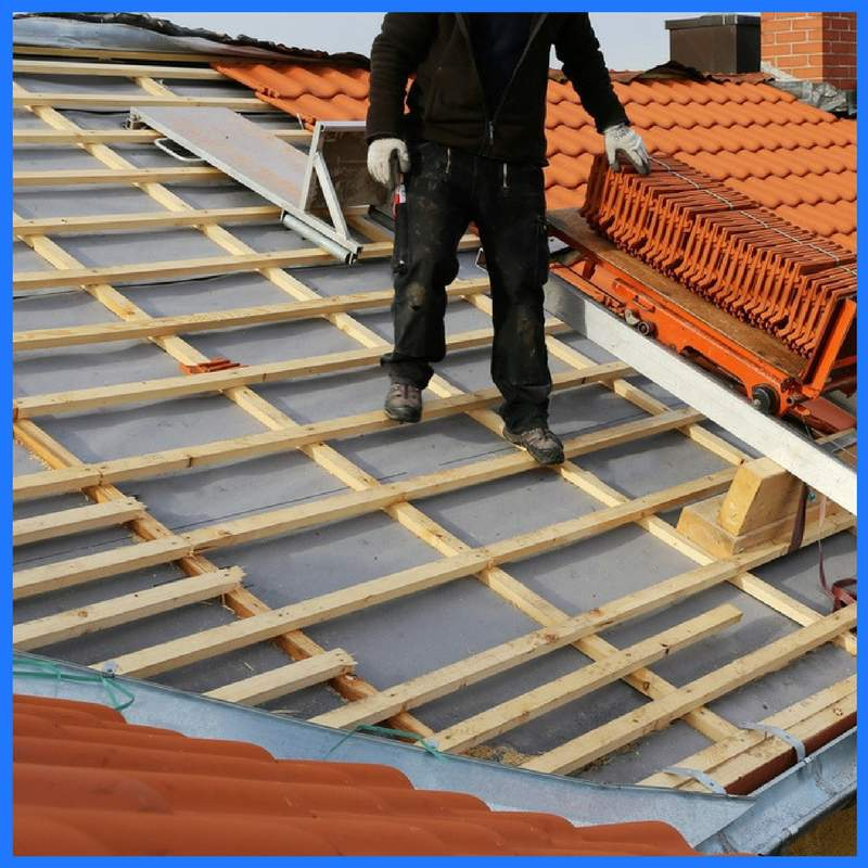 Roofing Tile Installation